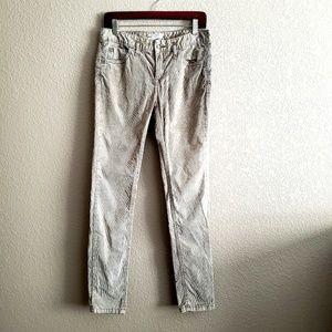 🍒FREE PEOPLE Skinny Corduroy Pants
